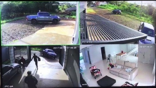 Atropella a ladrones