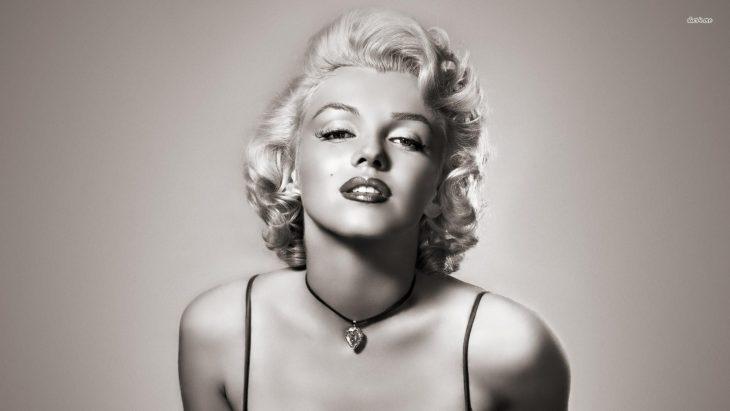 foto marilyn monroe blanco y negro