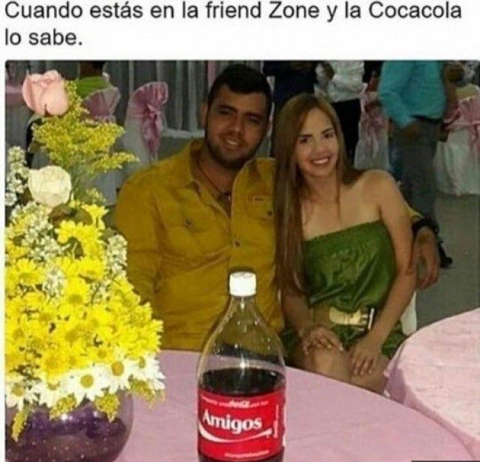 La cocacola lo sabe friendzone