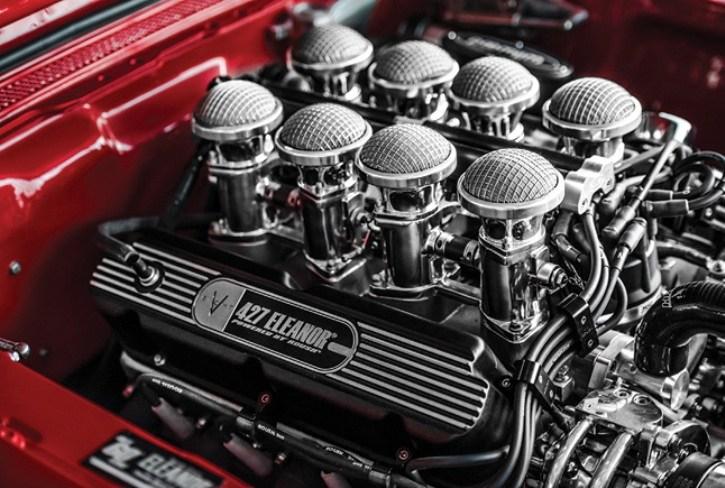 Motor de Mustang Eleanor