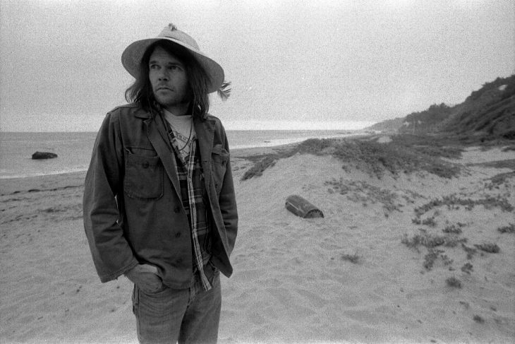 Neil Young joven