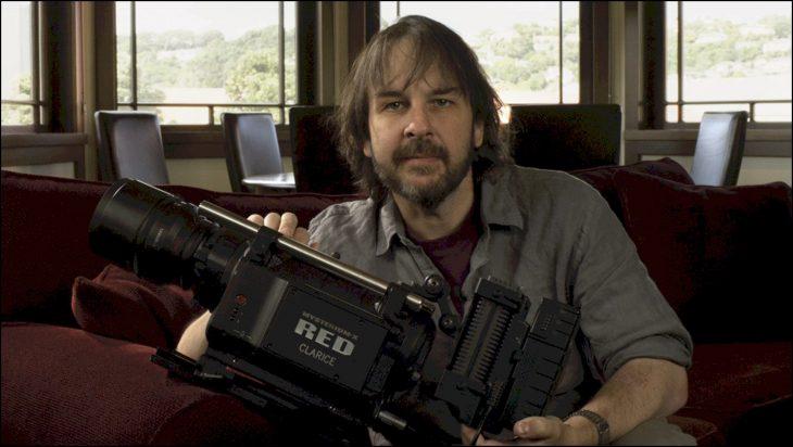Peter jackson Joven y con cámara