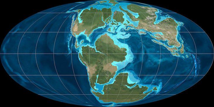 Separación de Pangea