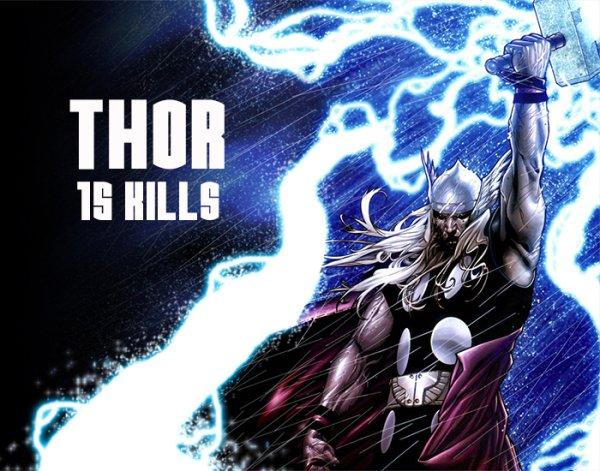 Muertes por los superhéroes de Marvel