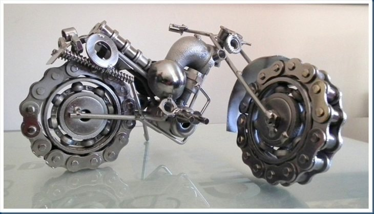 moto cadenas