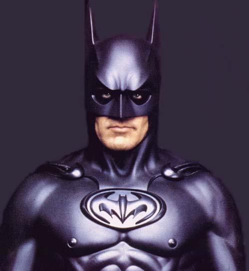 Batman George Clooney pezones