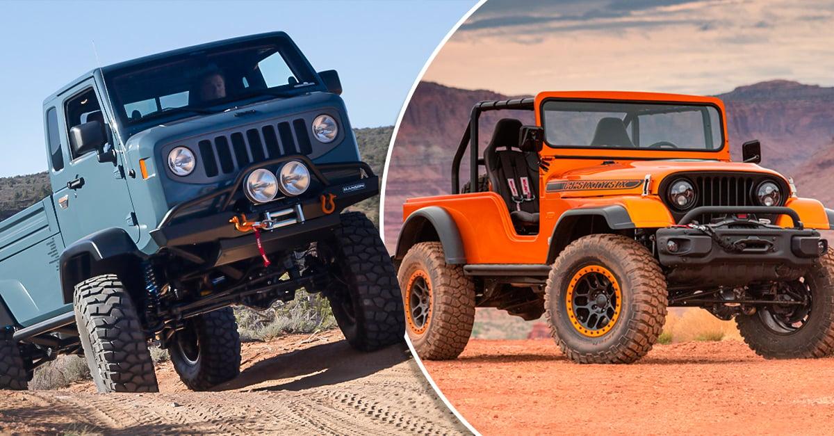 Estos 12 son los Jeep más increíbles de toda la historia