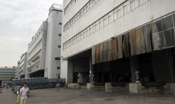 fábrica de iphone