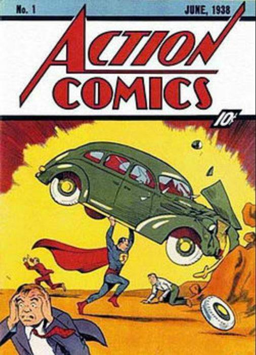 Primera aparición de Superman en un cómic