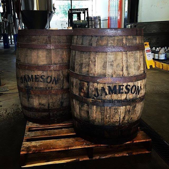 Barriles de whisky Jameson