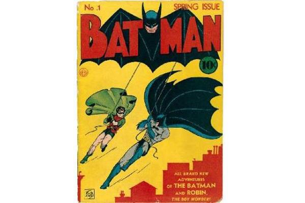 Primer número de Batman