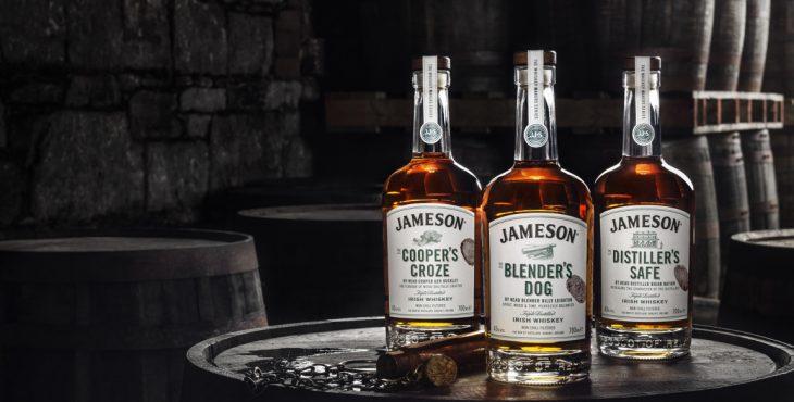 Botellas de Jameson
