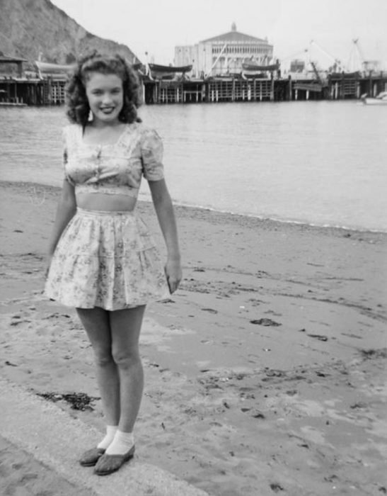 Fotos que muestran la vida de Marilyn Monroe antes de ser famosa 15