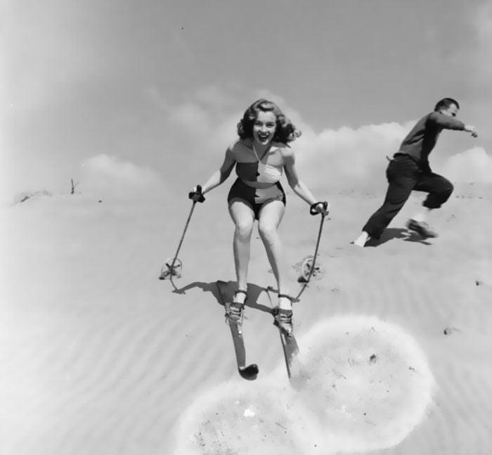 Fotos que muestran la vida de Marilyn Monroe antes de ser famosa 20