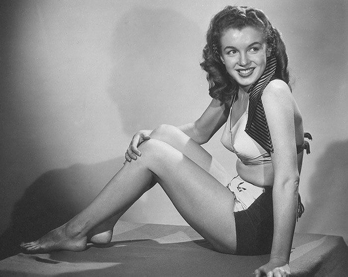 Fotos que muestran la vida de Marilyn Monroe antes de ser famosa 23