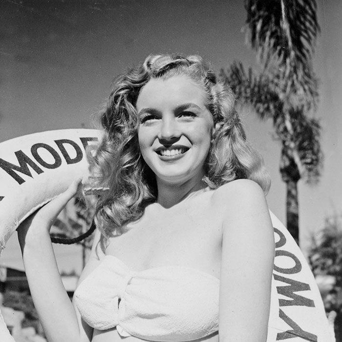 Fotos que muestran la vida de Marilyn Monroe antes de ser famosa 19