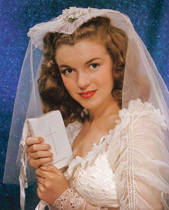 Fotos que muestran la vida de Marilyn Monroe antes de ser famosa 10