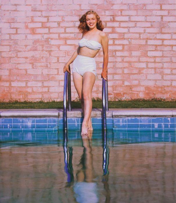 Fotos que muestran la vida de Marilyn Monroe antes de ser famosa 29