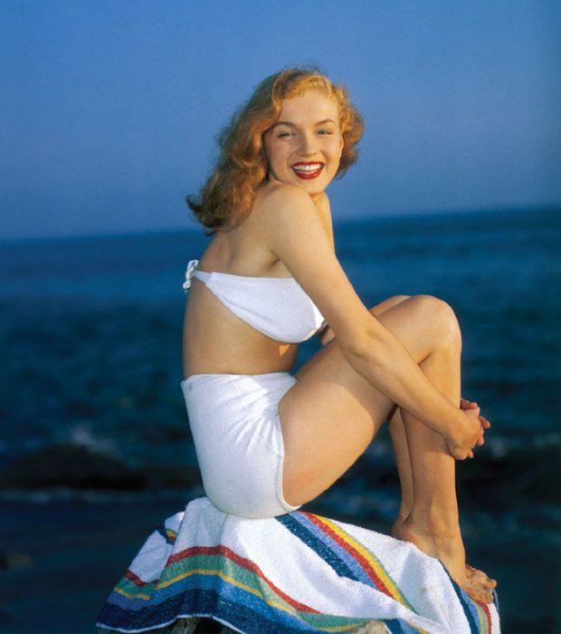 Fotos que muestran la vida de Marilyn Monroe antes de ser famosa 30