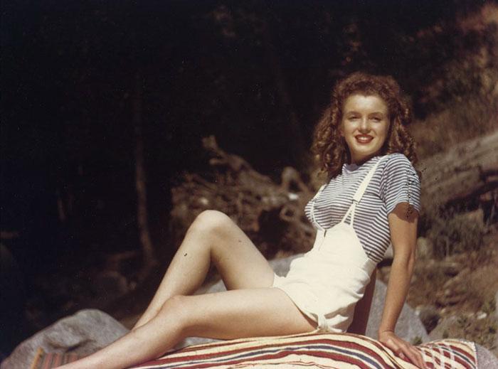 Fotos que muestran la vida de Marilyn Monroe antes de ser famosa 18