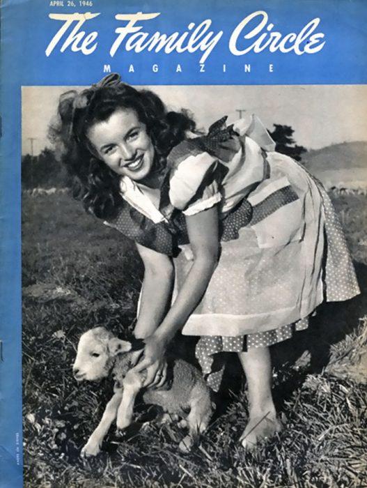 Fotos que muestran la vida de Marilyn Monroe antes de ser famosa 27