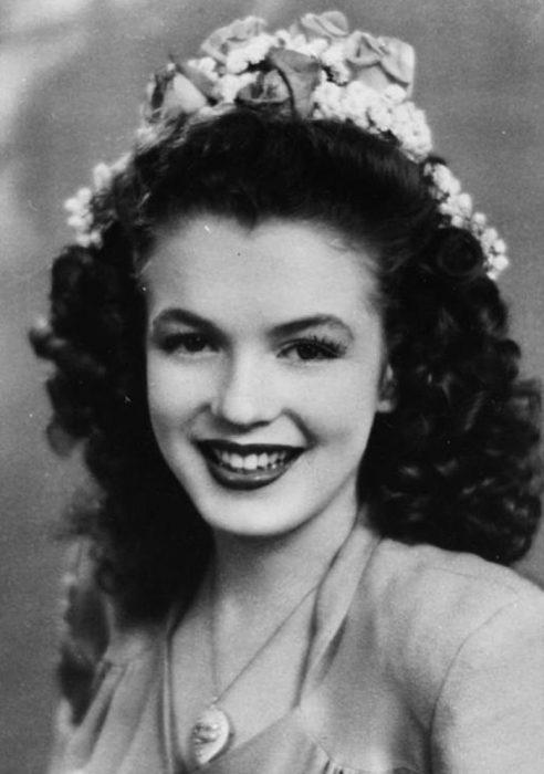 Fotos que muestran la vida de Marilyn Monroe antes de ser famosa 9