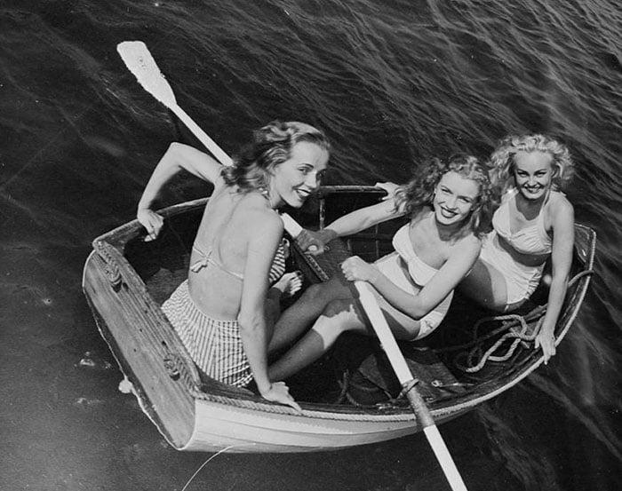 Fotos que muestran la vida de Marilyn Monroe antes de ser famosa 6