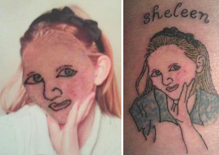 peores face swaps de tatuajes 17