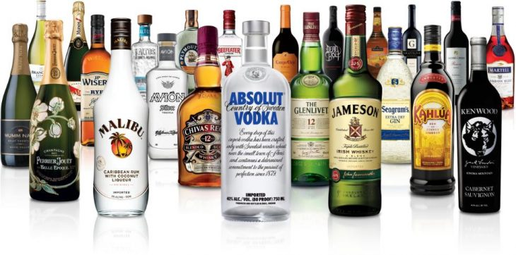 Marcas propiedad de Pernod Ricard