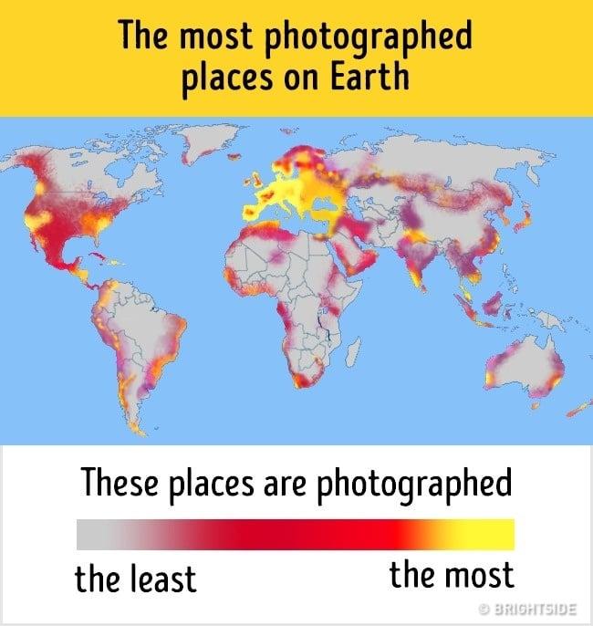 mapa fotografiados