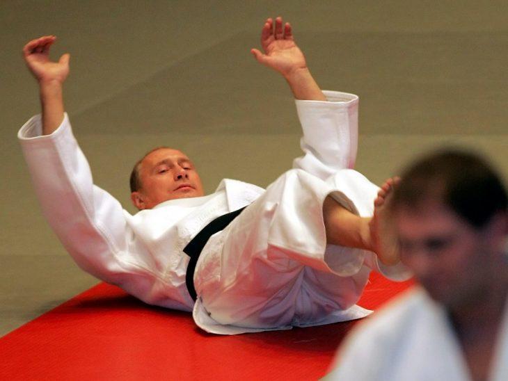 putin karate