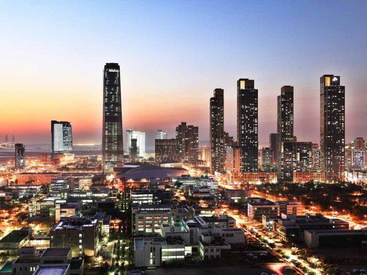 ciudad corea