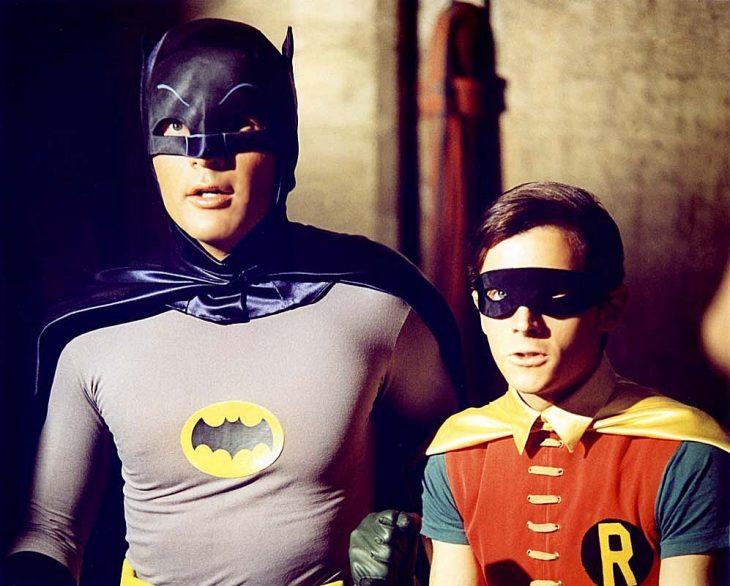 Batman y Robin en la serie de los 60
