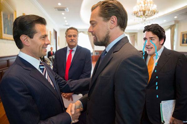 Memes Peña Nieto y DiCaprio 2
