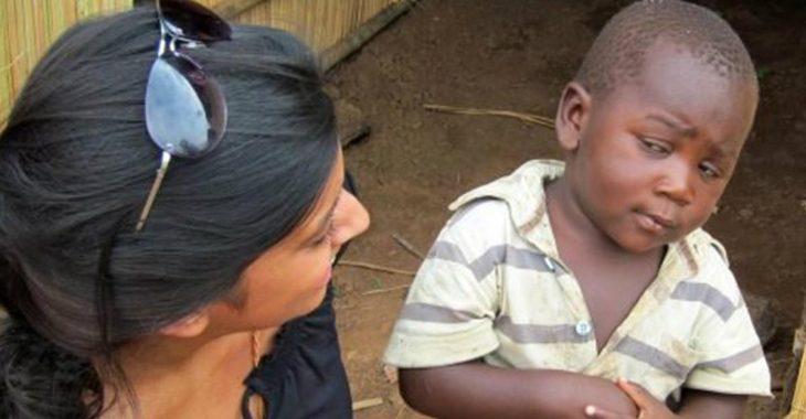 meme niño incrédulo africano