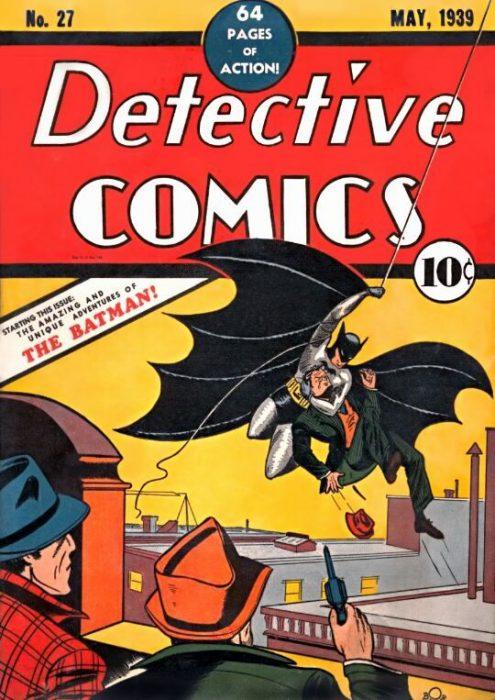 Primera aparición de Batman