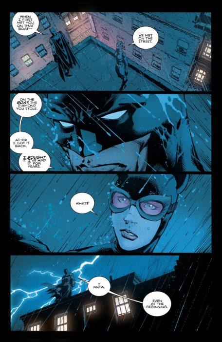 Escena del cómic de Batman