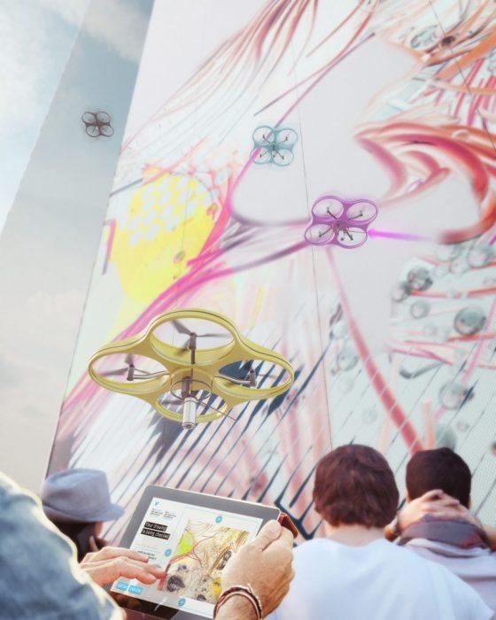 Pintura con drones