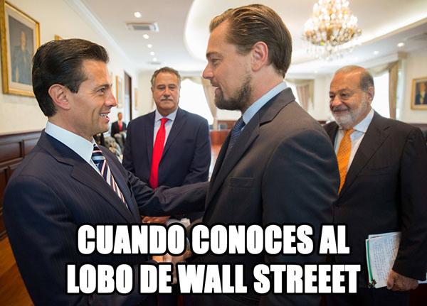 Memes Peña Nieto y DiCaprio 3