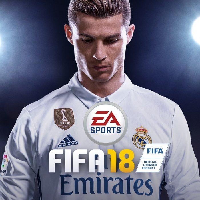 Portada de FIFA 18