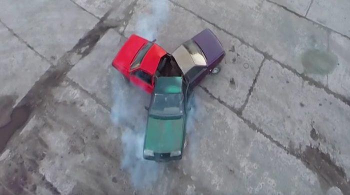 Fidget Spinner con autos