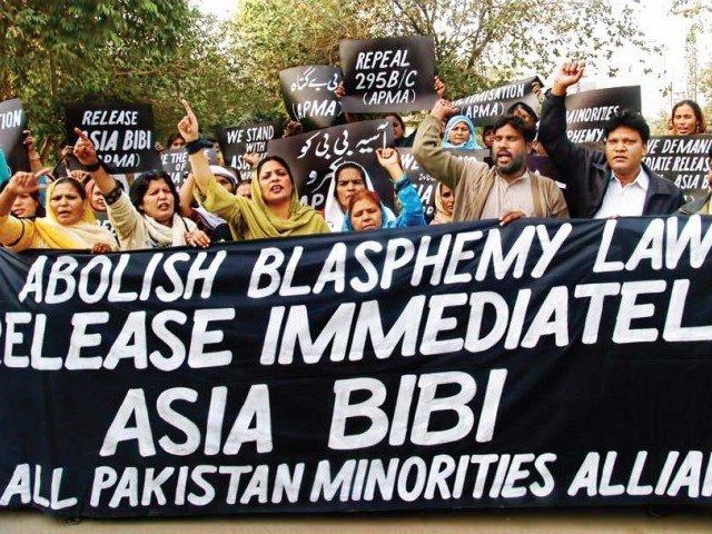 Abolicion de blasfemia pakistan