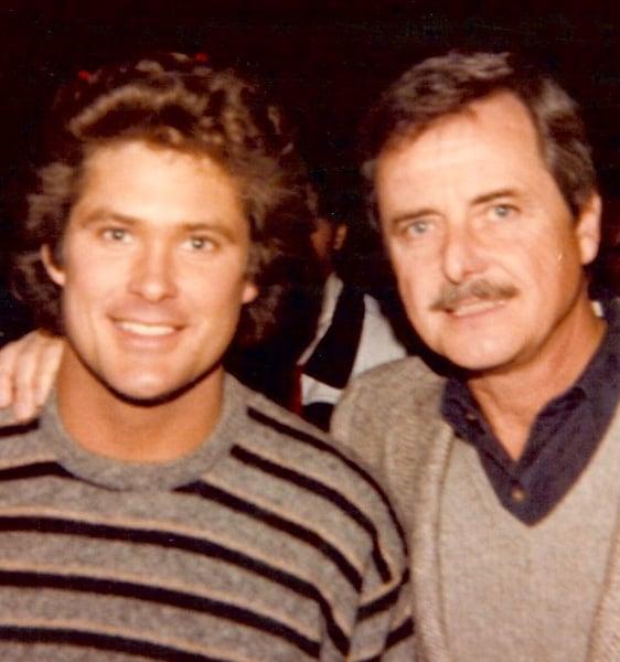 William Daniels and David Hasselhoff