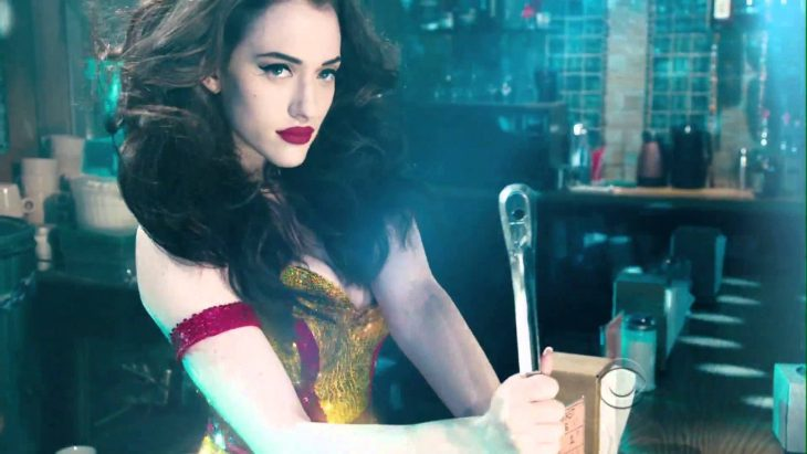 2 Broke Girls Kat Dennings 2