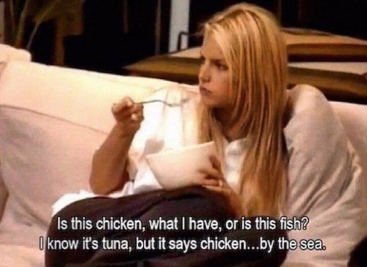 Jessica Simpson chicken of the sea