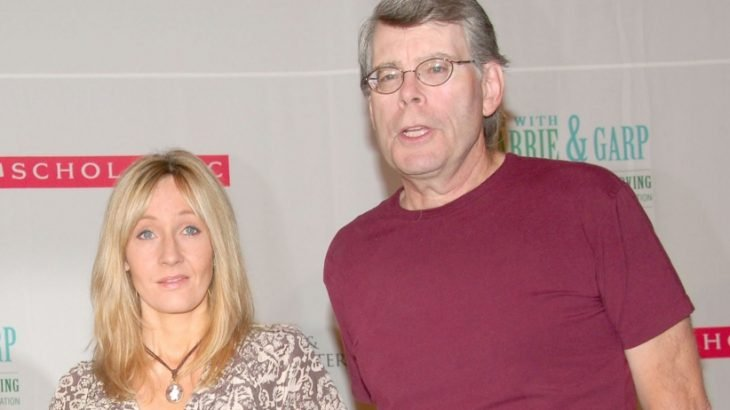 J. K. Rowling y Stephen King