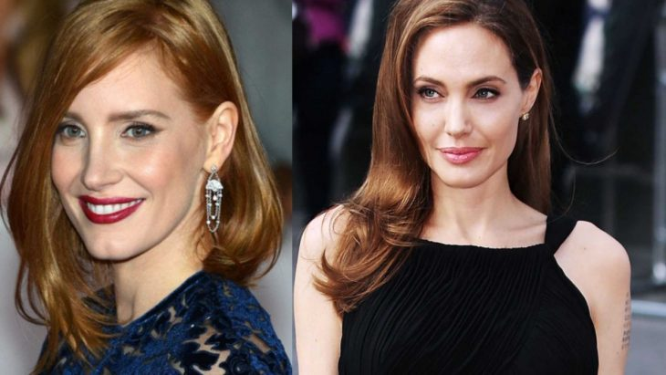 jolie and chastain
