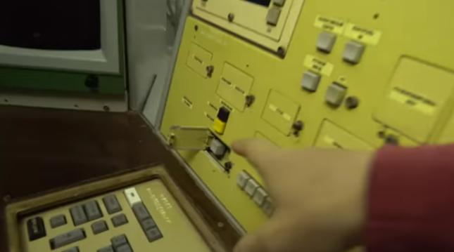 botón ucraniano del fin del mundo