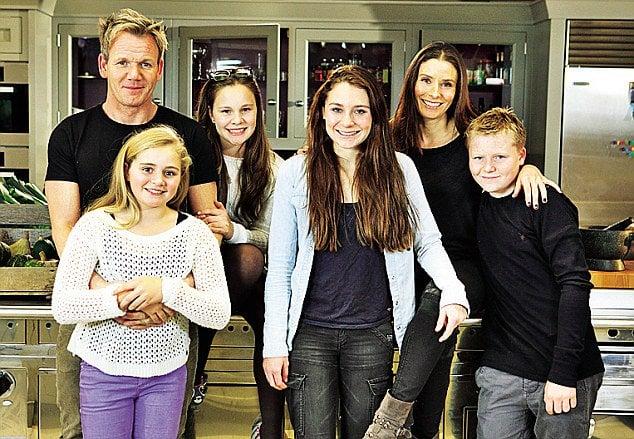 familia de gordon ramsay