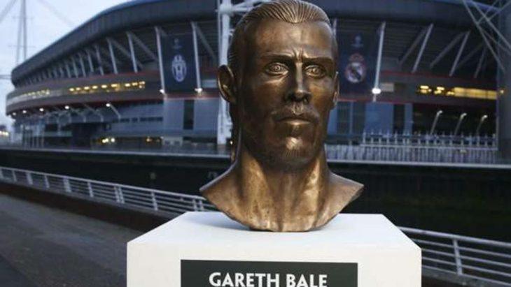 El busto de Gareth Bale